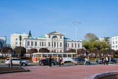 Ekaterinburg, Rússia - setembro 24,2016: Transporte público - um t Imagens de Stock Royalty Free
