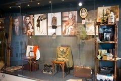 Ekaterinburg, Rusia - 24 de septiembre 2016: Objetos expuestos en un ` de Vysotsky del ` del museo Fotografía de archivo libre de regalías