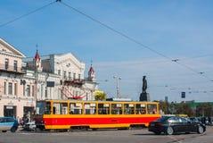 Ekaterinburg, Rusland - September 24.2016: Openbaar vervoer Stock Afbeeldingen