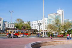 Ekaterinburg, Rusland - September 24.2016: Openbaar vervoer - t Royalty-vrije Stock Foto's