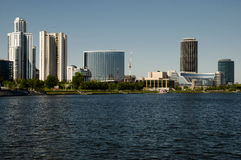 Ekaterinburg - Russia. Ekaterinburg City Skyline in Russia Royalty Free Stock Images