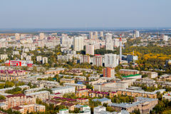 Ekaterinburg, Russia - September 24.2016: City landscape. Ekaterinburg, Russia - September 24.2016:  Beautiful type on city from a viewing platform 52 floors of Stock Photo