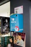 Ekaterinburg, Russie - 24 septembre 2016 : Objets exposés dans un ` de Vysotsky de ` de musée Images libres de droits