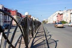 Ekaterinburg, Russie - 24 septembre 2016 : Paysage de ville Photographie stock
