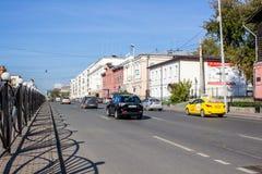 Ekaterinburg, Russie - 24 septembre 2016 : Trafic Photos libres de droits