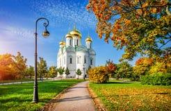 Ekaterininskykathedraal in Tsarskoe Selo Royalty-vrije Stock Afbeeldingen