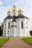 Ekateriniska church in Chernigov Royalty Free Stock Photo