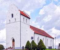 Ekeby church in Sweden Stock Images