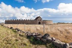 Ekeotorp城堡(Eketorps borg) 免版税库存图片