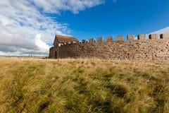 Ekeotorp城堡(Eketorps borg) 库存照片