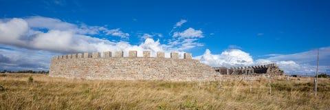 Ekeotorp城堡(Eketorps borg) 库存图片