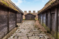 Free Eketorp. Iron Age Fort In Southeastern Öland, Sweden Royalty Free Stock Photos - 55689038
