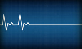 EKG stock illustration