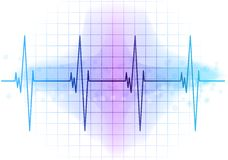 Ekg diagram Stock Photo