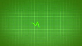 EKG elektrokardiograma pulsu serca istny sygnał royalty ilustracja