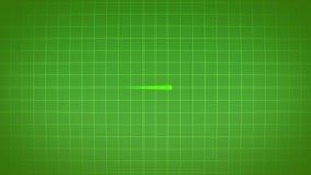 EKG elektrokardiograma pulsu serca istny sygnał zbiory wideo