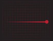 EKG Grid Red Stock Images