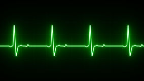 EKG Heart Line Royalty Free Stock Photo