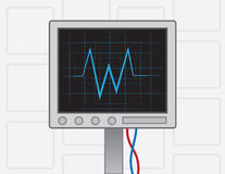EKG Machine Royalty Free Stock Photos