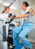 EKG Prüfung Stockbilder