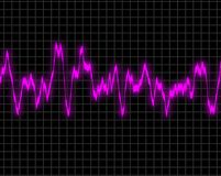 EKG read out Royalty Free Stock Photos