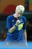 EKHOLM Matilda at the Olympic Games in Rio 2016. Stock Images