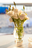 Ekibany avec de belles fleurs Image stock