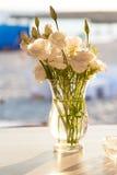 Ekibany mit schönen Blumen stockbild
