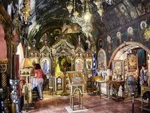 Ekklisia Agia Kiriaki Church. Athens, Attica, Greece. royalty free stock photo