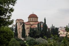Ekklisia Agia Triada church in Athens royalty free stock photography