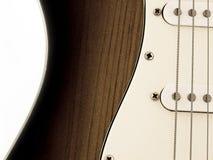 Eklektische Gitarre Stockbild