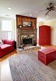 Eklektisches Wohnzimmer lizenzfreies stockbild