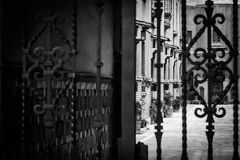 Eklektisches Zonenen-La ciudad De Mexiko Lizenzfreie Stockbilder