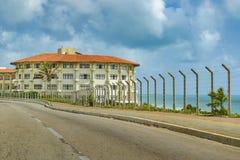 Eklektyka Stylowy budynek Natal Brazylia obrazy royalty free