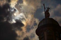 Eklipse der Sonne stockfotografie