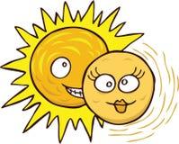 Eklipse der Sonne vektor abbildung