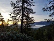 Eklipse-Sonnenaufgang stockfotos