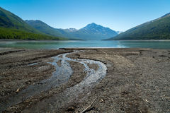 Eklutna Lake in Alaska Stock Photography