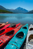 Eklutna lake in Alaska. Stock Photography