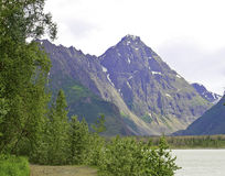 Eklutna lake Alaska Royalty Free Stock Photos