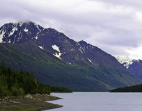 Eklutna lake Alaska Royalty Free Stock Image