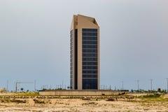 Eko Атлантик-Сити Лагос Нигерия; небоскребы в новом городе стоковое фото