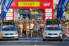 Eko Maraton, Maribor Royalty Free Stock Images