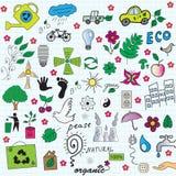 ekologi royaltyfri illustrationer