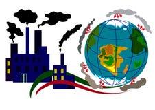 Ekologi Infographic 3 Arkivfoton