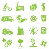 Ekologi- och miljösymboler Royaltyfria Foton