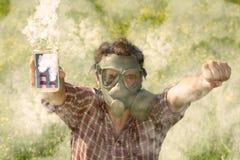 Ekologia aktywista obraz stock