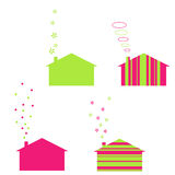 ekologia domy Obraz Stock