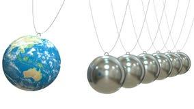 Ekologia, globalna komunikacja i strategii biznesowej pojęcie, ilustracji