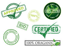 ekologia znaczki Fotografia Royalty Free